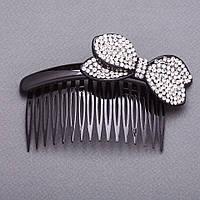 Заколка для волос гребень Бант 10х5см