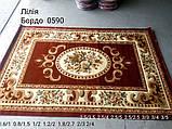 РЕЛЬЕФНЫЙ КОВЕР LILIY 0590 БОРДОВЫЙ, фото 2