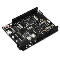 Wemos® UNO + WiFi R3 ATmega328P+ESP8266 32 Мб памяти USB-TTL CH340G Совместимость для Arduino Uno NodeMCU ESP8266