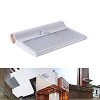 Солнечная Powered 42 LED Водонепроницаемы IP65 PIR Motion Датчик Настенный светильник На открытом воздухе Сад Безопасность Лампа