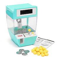 Мини Кукла машина захватить мяч монеты конфеты Catcher сигнализации Часы для детей дети Party Fun Toys