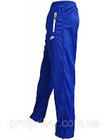 Мужские спортивные штаны Найк из плащевки без подкладки копия