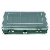 Двухстороннее пластиковое хранение Коробка Чехол Винты Компоненты деталей Контейнерный ассортимент Органайзер