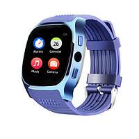 KALOAD T8M Сердце Оценить артериальное давление Монитор Bluetooth камера Smart Watch for Android