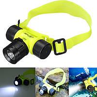1000LM LED Под водой Водонепроницаемы Дайвинг фары фонарик фара