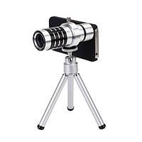 IPRee®Алюминиевыйсплав12xMiniHD Мобильный телефон для телескопа Объектив
