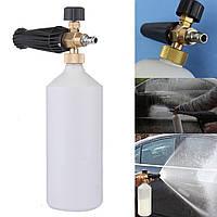 1L Снегоочиститель Пневматическая шайба Мыло Бутылка для мытья посуды для бутылок 1/4 дюймов Connect