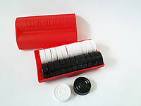 Настольная игра Шашки (шашки в пластиковой коробке и картонная доска)