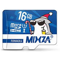 MIXZA Christmas Edition 16GB U1 Карта памяти Micro SD TF