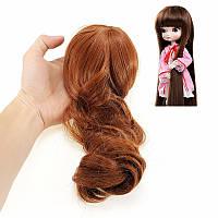 BBGirl BJD Кукла Коричневый цвет Волосы Для DIY 30cm 35cm Кукла Аксессуары Игрушка