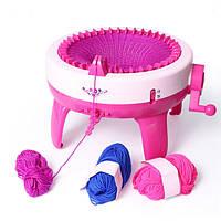 JTStoys 40 иглы Позиции Дети Quick Knit Loom Big размер Детские наборы для шитья Multi-Craft ткацкий станок