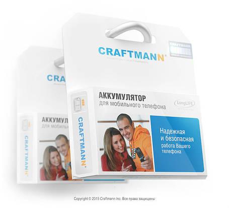 Аккумулятор Craftmann SPB562540 для Samsung SGH-F300 (ёмкость 500mAh), фото 2