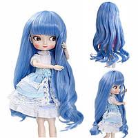 BBGirl BJD Кукла Синий Волосы Для 30см 35см Кукла DIY Аксессуары Игрушка