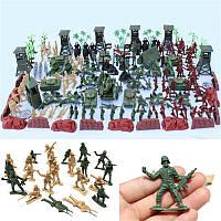 170PCSSoldierSceneModelSet Игрушки для детей Детский подарок