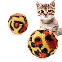Pet Кот Шлифовальные когти Leopard Ball Toys Creative Sound Кот Игрушки для игры с жевательными упражнениями