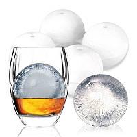 KCASA KC-IM01 4 Сферический раунд Силиконовый Решетка для льда Cube Лоток для изготовления форм для виски в коктейль