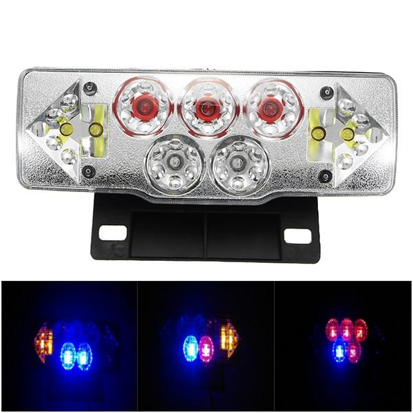 36-60V 3W мотоцикл Turn Light W/Tail Лампа Красный Желтый Синий 1TopShop