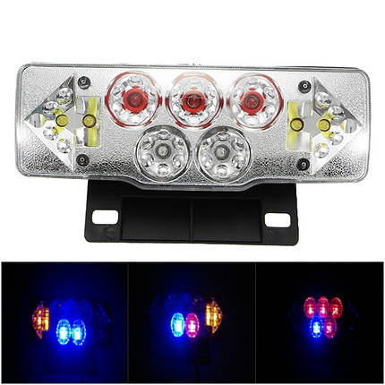 36-60V 3W мотоцикл Turn Light W/Tail Лампа Красный Желтый Синий 1TopShop, фото 2