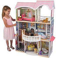 Деревянный кукольный дом villa Magnolia  с аксессуарами KidKraft  65839