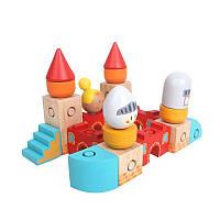 Блоки замка Уму Набор Деревянные игрушки Образцовая пряжка Застежка Деревянная конструкция Деревянные модели