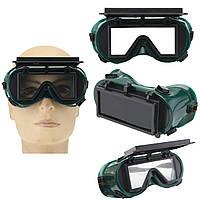 Промышленные защитные очки Защита от грейферной защиты Очки Маска Green Square