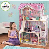 Деревянный кукольный дом annabell-117-cm с мебелью KidKraft  65934