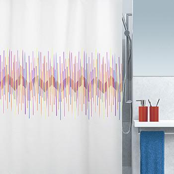 Шторка д/ванной polyester RAY разноцветный