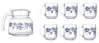 Набор для чая Luminarc Altese Blue 7 предметов N6224