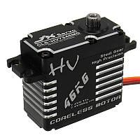 JX CLS-HV7346MG 46KG Высококачественная стальная зубчатая передача с цифровым коромыслом Сервопривод