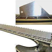 Гитара Шея Стальная прямая кромка с ружьем для ремонта Luthier Набор