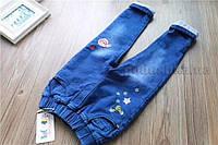 Джинсы утепленные детские ZCMJ kids 241122 темно-синие  размер 130 (6-7 лет)