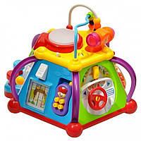 Игрушка для малыша, развивающая Мультибокс Happy Small World 806