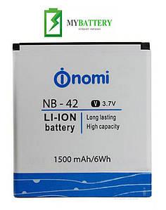 Оригинальный аккумулятор АКБ батарея Nomi NB-42 для Nomi i401 1500mAh 3.7V