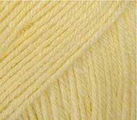 Gazzal Baby wool 833 лимонный