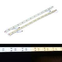 50CM SMD5730 Водонепроницаемы 72LEDs Жесткая полоса света Чистый белый теплый белый с Коннектор DC12V