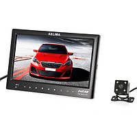 KELIMA 7 дюймов Bluetooth MP5 Авто Дисплей+Four LED Вид сзади камера с реверсивным линейкой