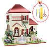 DIY Кукла Дома Деревянные Кукла Дом Unisex 3d Куклаhouse Мебель Детская игрушка Миниатюрные Набор Craft