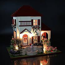 DIY Кукла Дома Деревянные Кукла Дом Unisex 3d Куклаhouse Мебель Детская игрушка Миниатюрные Набор Craft, фото 2