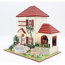 DIY Кукла Дома Деревянные Кукла Дом Unisex 3d Куклаhouse Мебель Детская игрушка Миниатюрные Набор Craft, фото 3