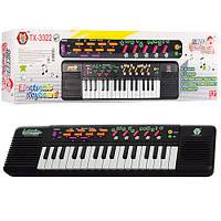 Синтезатор TX-3322 (48шт) 32 клавиши,муз,12мелодий,2режима,на бат-ке,в кор-ке, 44,5-12-4cм