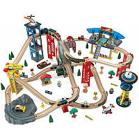 Железная дорога и аксессуары KidKraft Железная дорога KidKraft Super Highway Train Set (17809)
