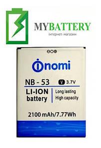 Оригинальный аккумулятор АКБ батарея Nomi NB-53 для Nomi i502 2100mAh 3.7V