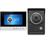 7-дюймовый TFT 2.4G Проводной цветной домофон Дверной звонок Видеодомофон Ночное видение IR На открытом воздухе Монитор