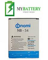 Оригинальный аккумулятор АКБ батарея Nomi NB-54 для Nomi i504 2000mAh 3.7V