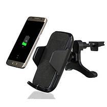Bakeey Qi Беспроводной Fast Авто Держатель для крепления воздухозаборника для зарядного устройства с QC 2.0 для iPhone X 8Plus Samsung S8, фото 2