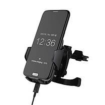 Bakeey Qi Беспроводной Fast Авто Держатель для крепления воздухозаборника для зарядного устройства с QC 2.0 для iPhone X 8Plus Samsung S8, фото 3