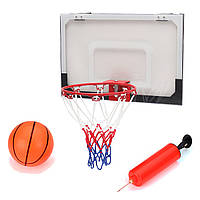 Мини-баскетбольнаясеткасчистымобручемс шариком Насос Крытый спортивный игровой товар