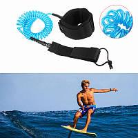 IPRee®10футов7ммСкрученная доска для серфинга для серфинга Подставка для верховой езды Платформа для весла Веревка