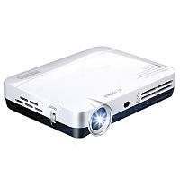 NIERBOMiniПроекторPortable2000Lumens LED Full HD Android 1080p Домашний кинотеатр HDMI 3d Проектор