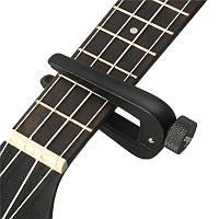 Zebra FC-09 Регулируемая универсальная гитара Укулеле Capo цинковый сплав Clip